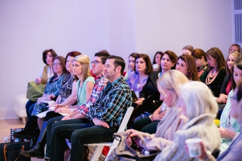 Gathering of Chapel Designers on day one of the New York City conference 2014