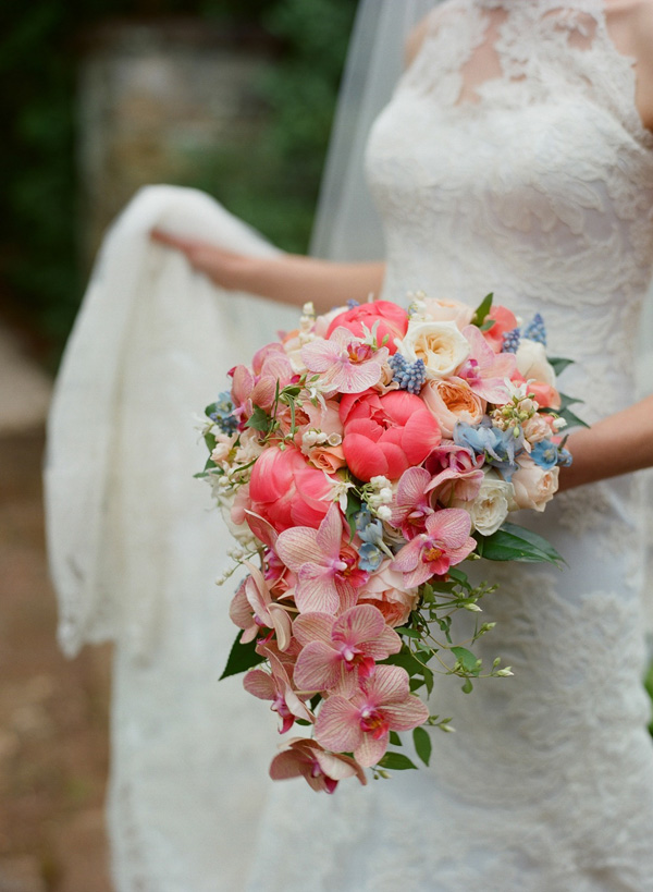Bridal bouquet by Holly Heider Chapple