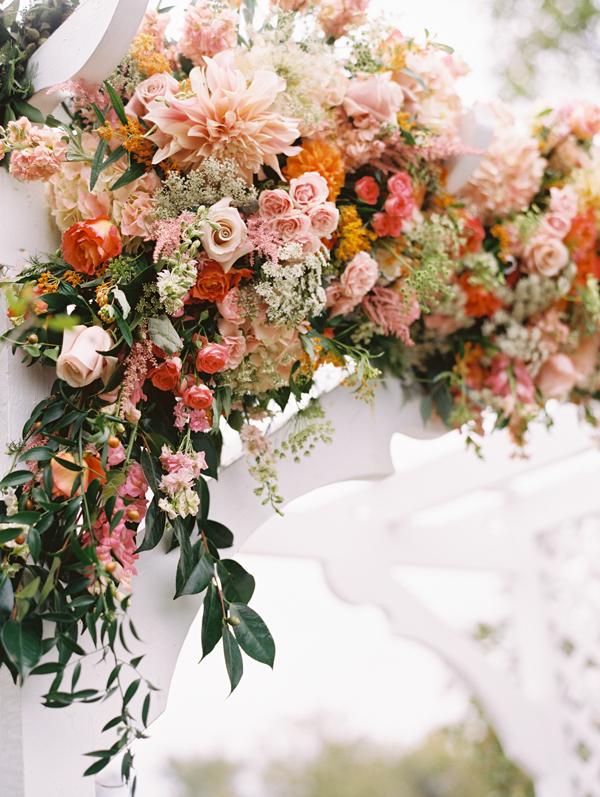 Wedding ceremony installation by Holly Heider Chapple