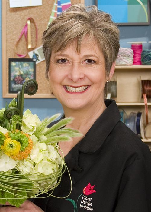 Floral Design Institute Director - Leann Kessler AIFD, PFCI, FDI