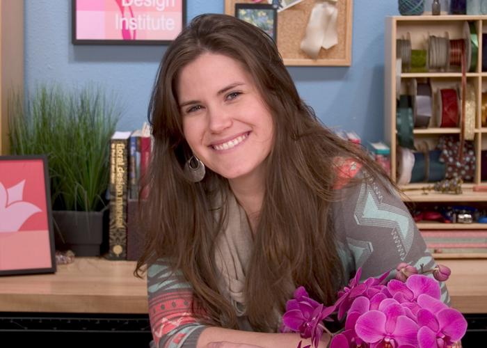 Floral Design Institute Instrutor – Callie DeWolf AIFD, CFD, FDI