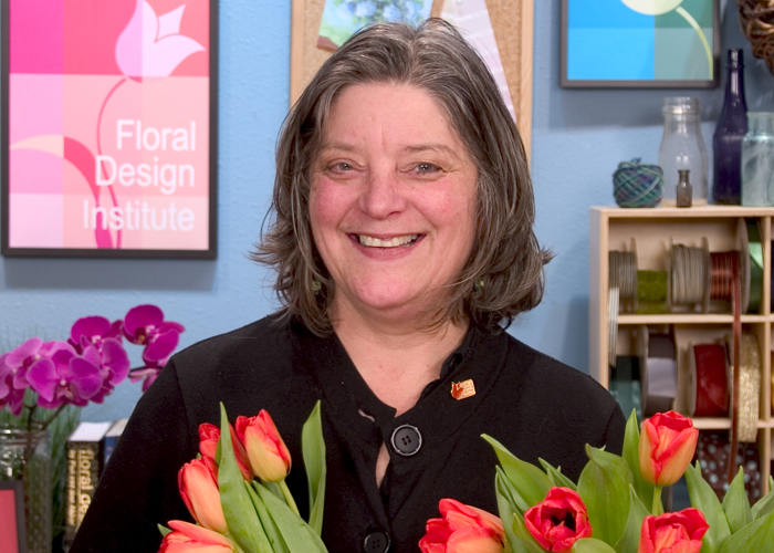 Floral Design Institute Director – Kathy Freeman-Hastings FDI